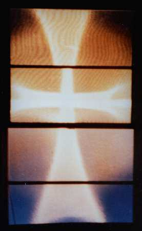 Photograph of a Cross of Light